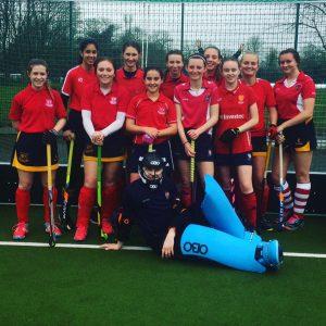 UHC Girls under 16 team